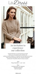 LaDress en LaDress couture collection